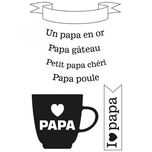 Tampons Clear Papa en or
