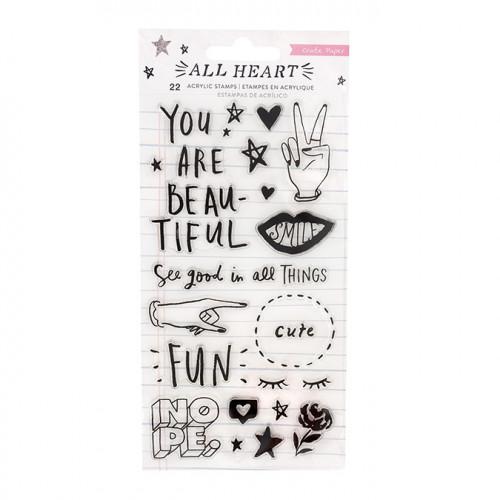 All Heart Tampons transparents - 22 pcs
