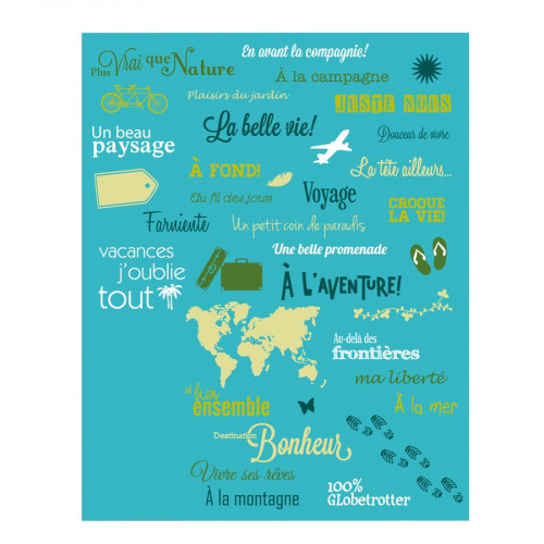 Tampon Clear - Set de 38 Tampons - Voyages