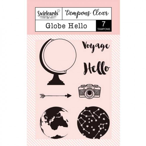 Tampons Clear - Globe Hello - 7 pcs