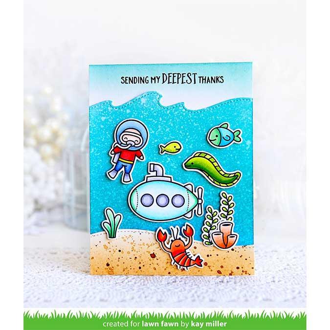 Tampons Clear Sublime sous l'eau