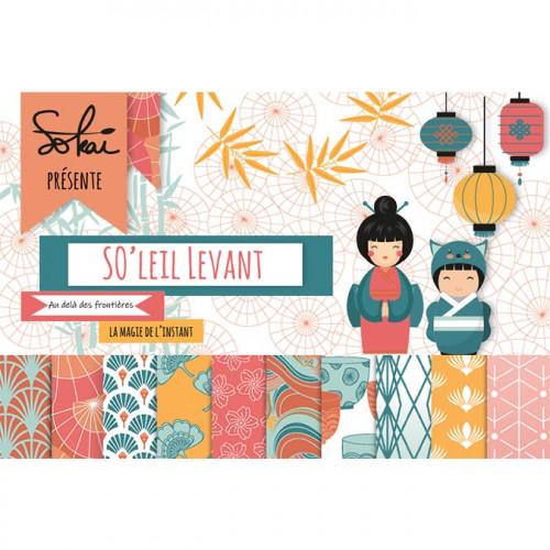 Set de 16 tampons transparents SO'leil Levant