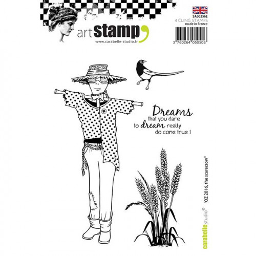 Tampon Cling A6 - OZ 2016, The Scarecrow