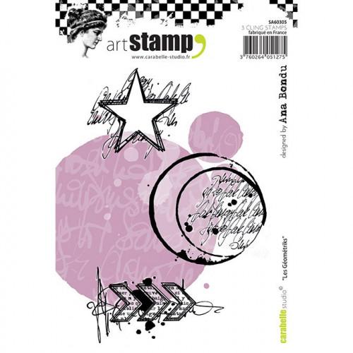 Tampons Cling - Les Geometriks - A6