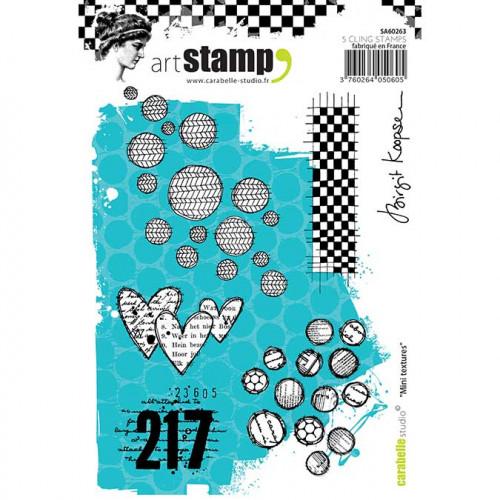 Tampon Cling A6 - Mini textures - B. Koopsen