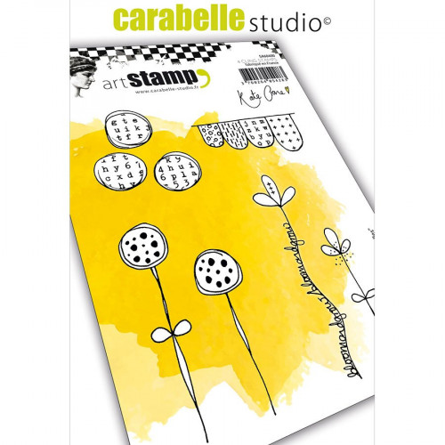 Tampons Cling Journal Doodles - 4 pcs