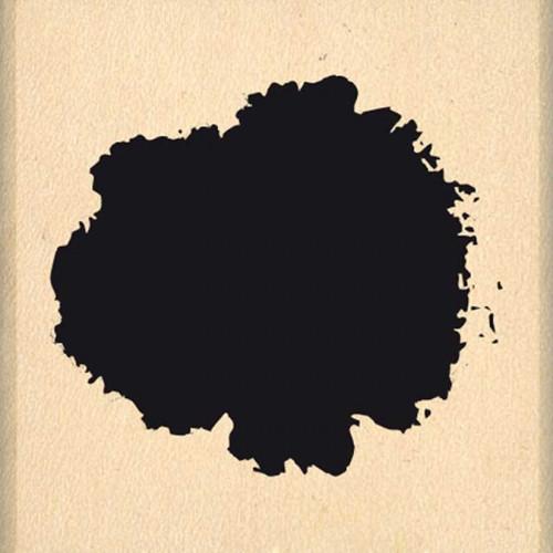 Hello Watercolor - Tampon Bois - Petite tâche - 4 x 4 cm