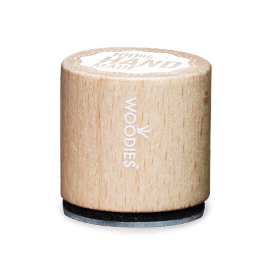 Tampon bois Woodies - Invitation - 3 cm