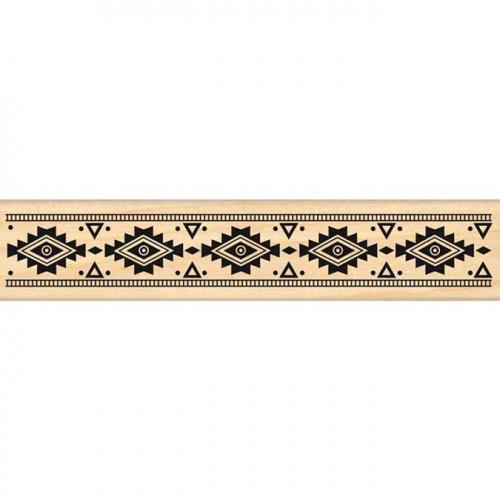 Dakota Valley - Tampon Bois - Galon aztèque - 3 x 15 cm