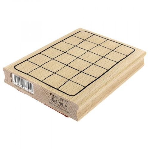 Tampon bois Desk board - 13 x 10 cm
