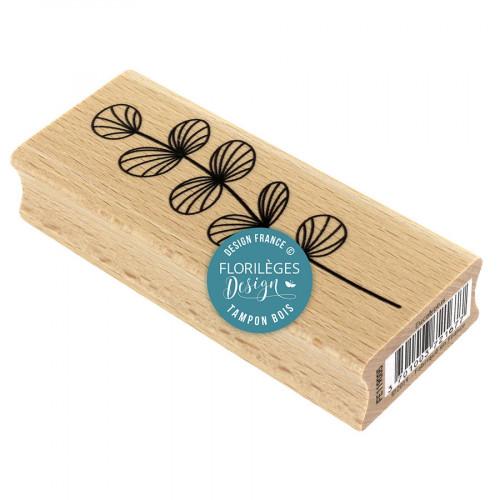 Tampon bois Eucalyptus - 4 x 10 cm