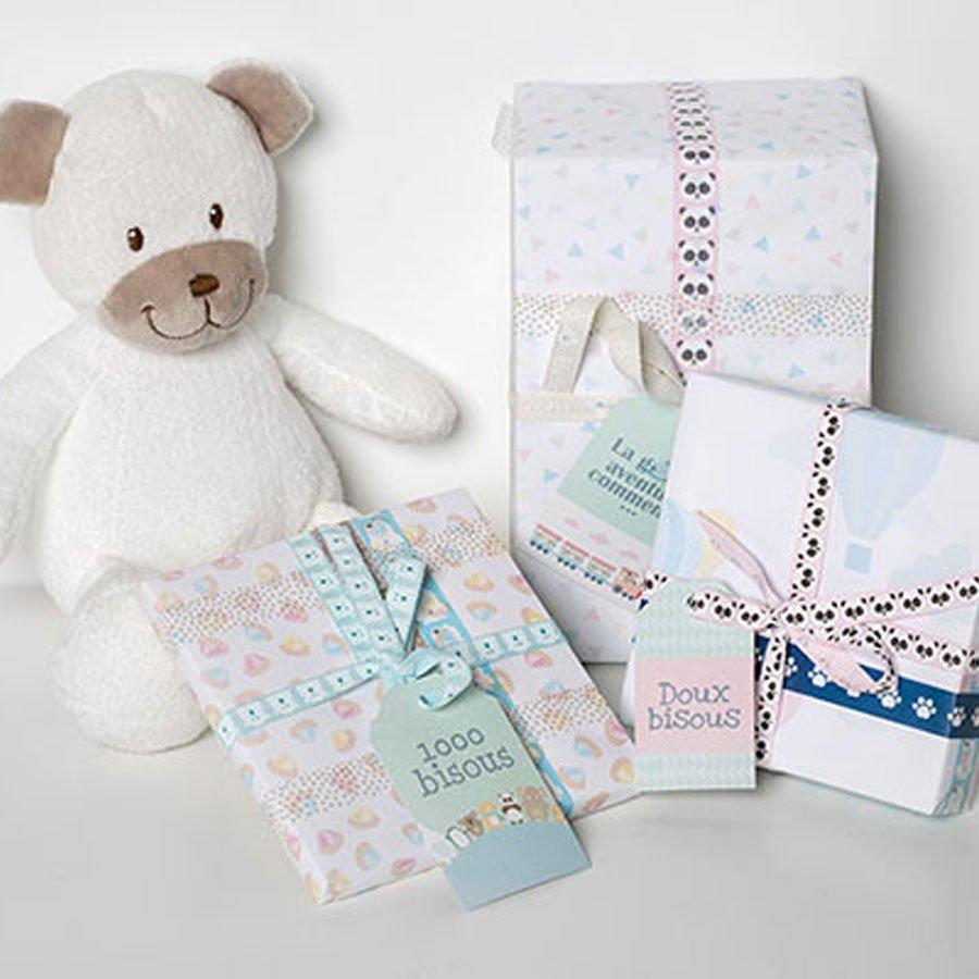Tampon bois - Adorable - Panda - 4 x 5 cm