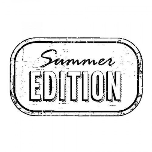 Tampon bois  - Summer edition - Sweet Memories - 5,3 x 3,7 cm