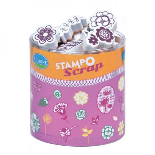 Stampo Scrap - Fleurs
