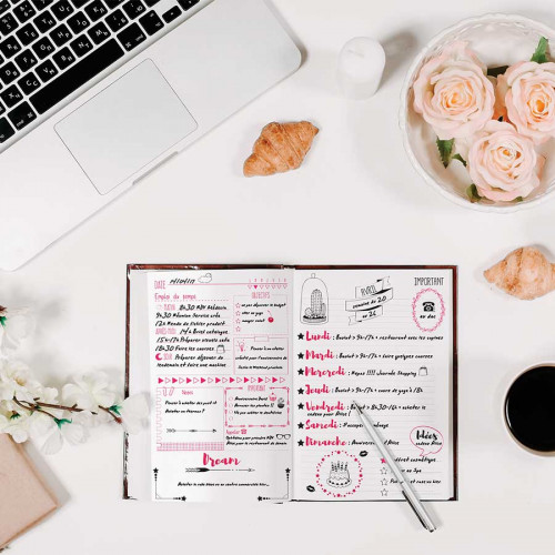 Stampo Planner Page semaine - 16 tampons