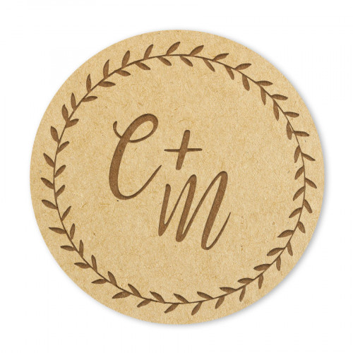 Badge Initiales