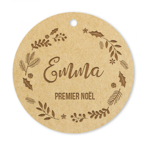 Médaille Premier Noël ornement